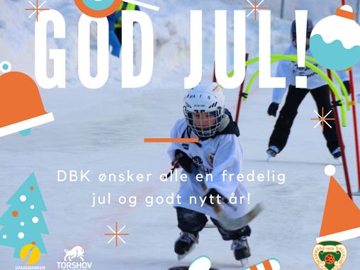 DBK ønsker god jul og godt nytt år!