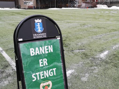 Drammens Ballklubb iverksetter utvidede tiltak for smittevern.