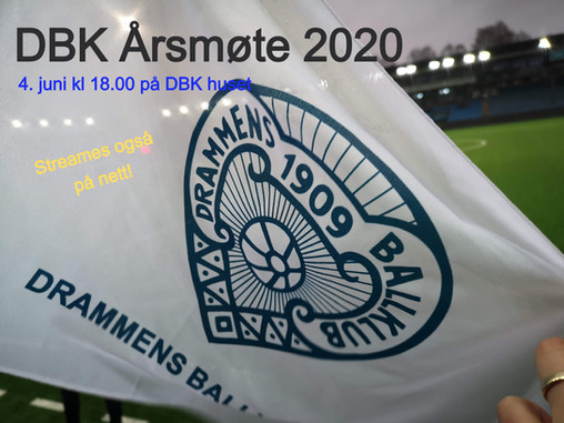 Årsmøte i DBK 2020