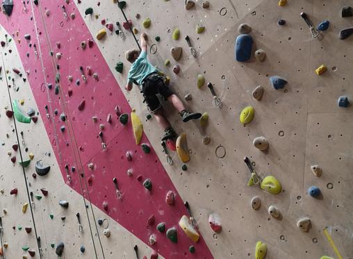 Vikingdag, klatring og turn på Sommercamp