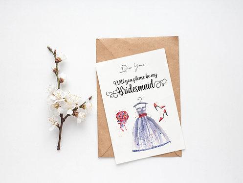 Bridesmaids Proposal - Lilac Dreams