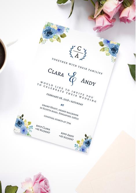 Invitation: Blue Alice