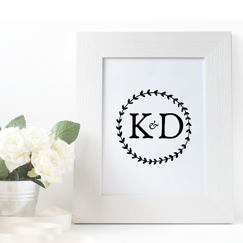Monogram: Eternal Wreath