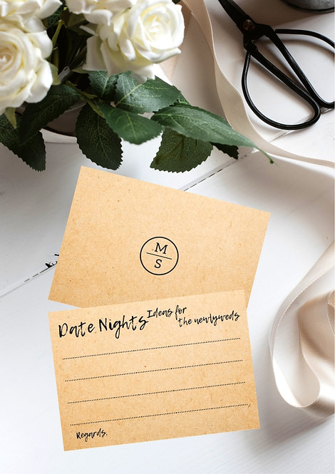 Ideas for Date Nights