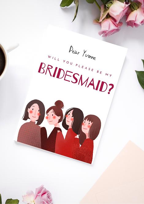 Bridesmaids Proposal -Team Bride
