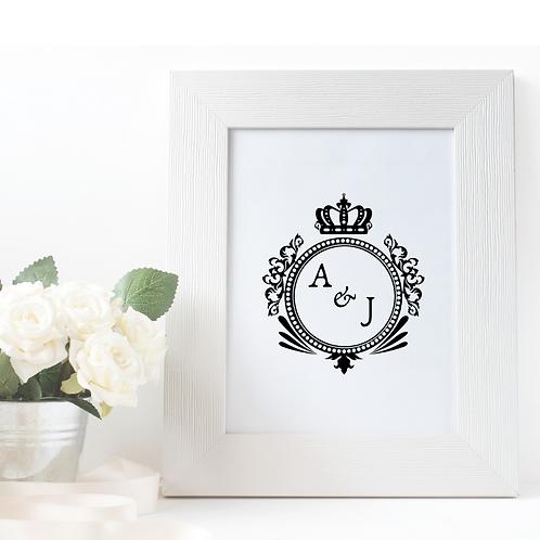 Monogram: Royal Crest