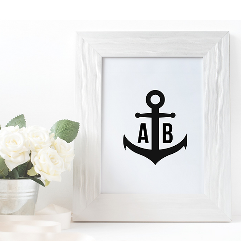 Monogram: Anchor Love