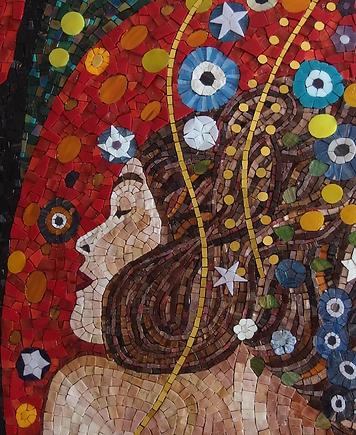 Mosaique Klimt