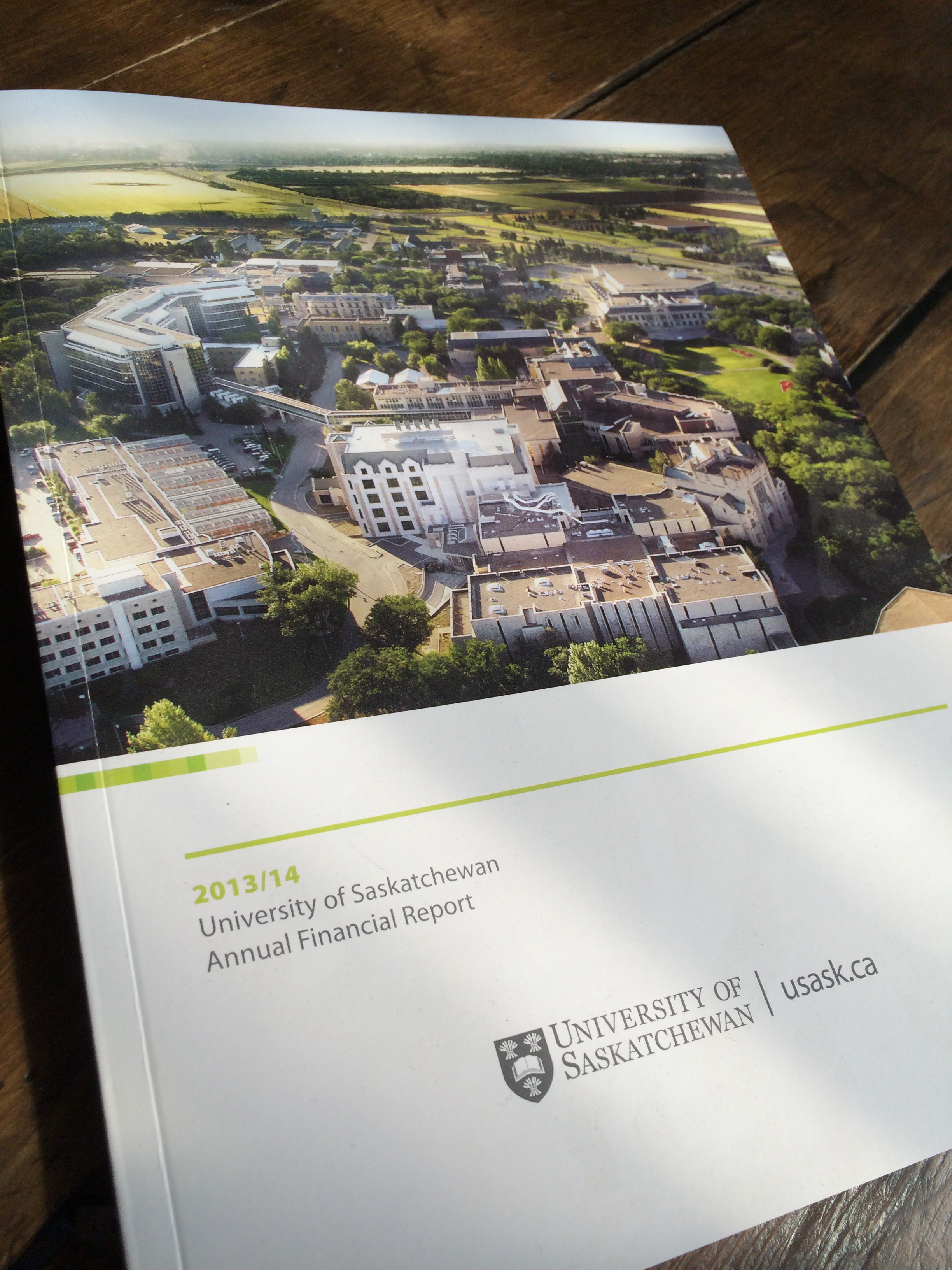 U of S Annual Report 1