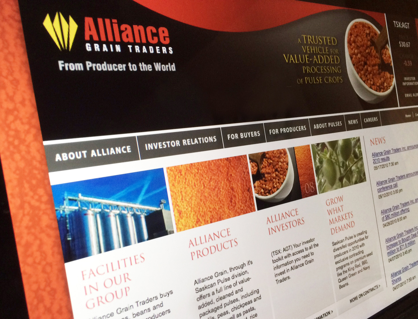 Alliance website
