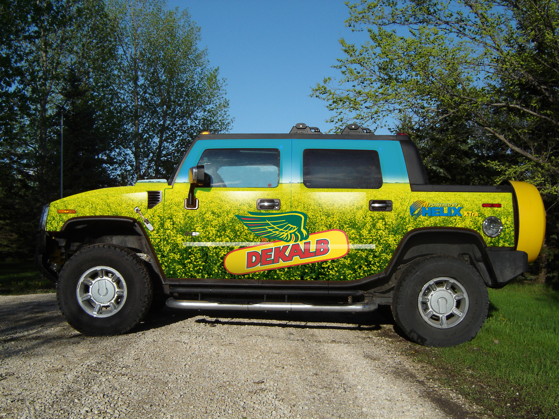 Dekalb vehicle wrap