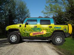 Dekalb vehicle wrap