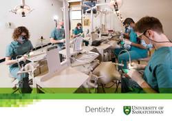 U of S College of Dentistry brochure