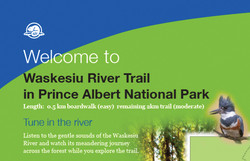 Parks Canada Waskesiu River Trailhead si