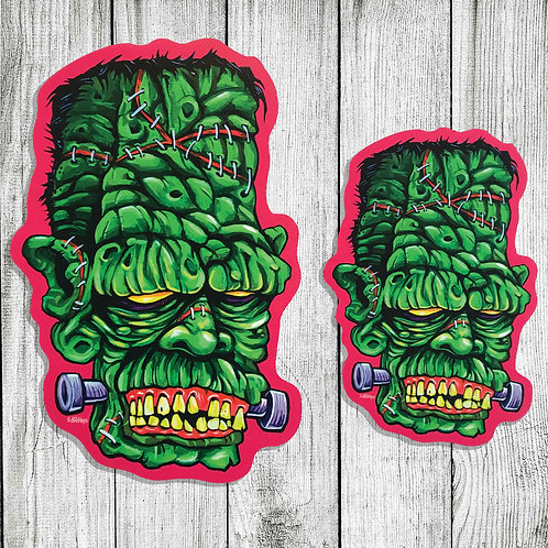Frankenstein Monster cutout print