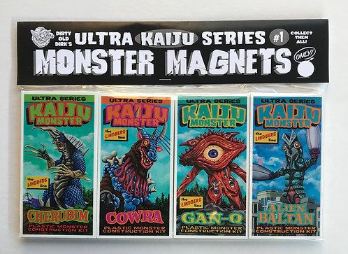 Kaiju Monster magnet set