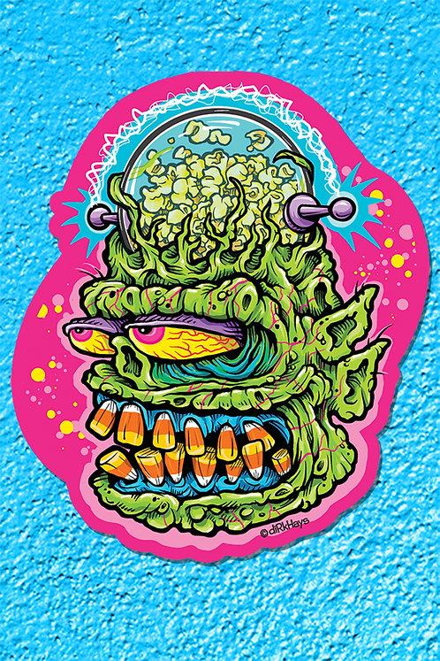 Cosmic Korn Kreep Sticker