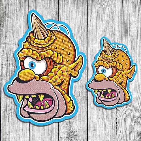 Homer Cyclops cutout print