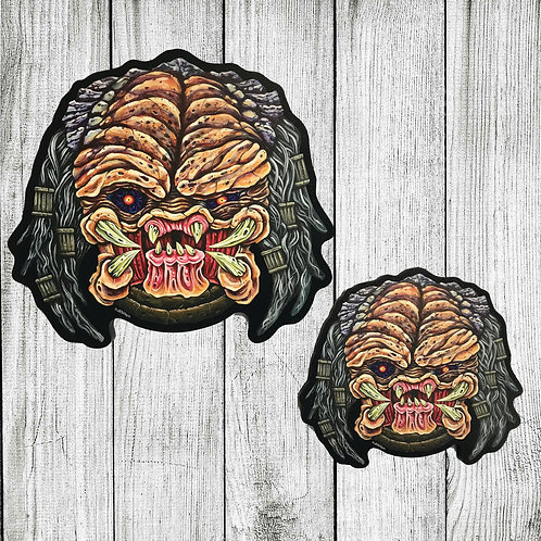Predator cutout print