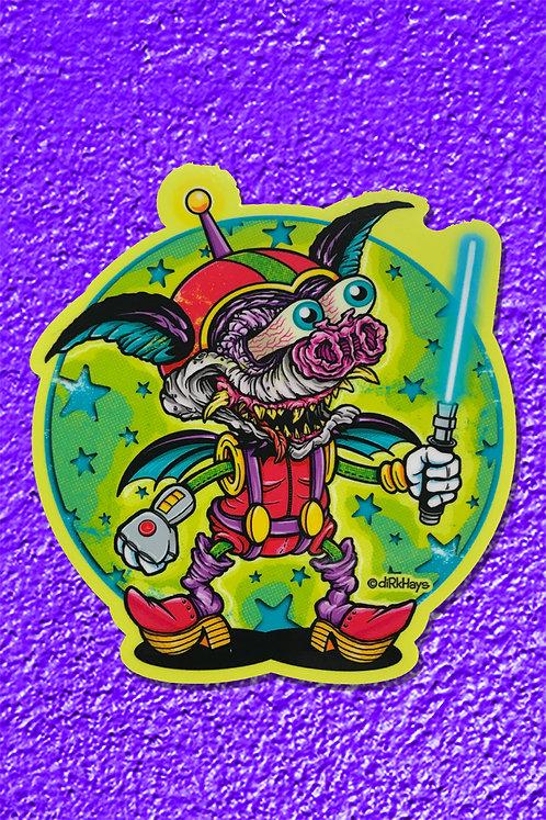 AstroBatty Sticker
