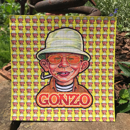 Gonzo Blotter Art (Yellow Variant)