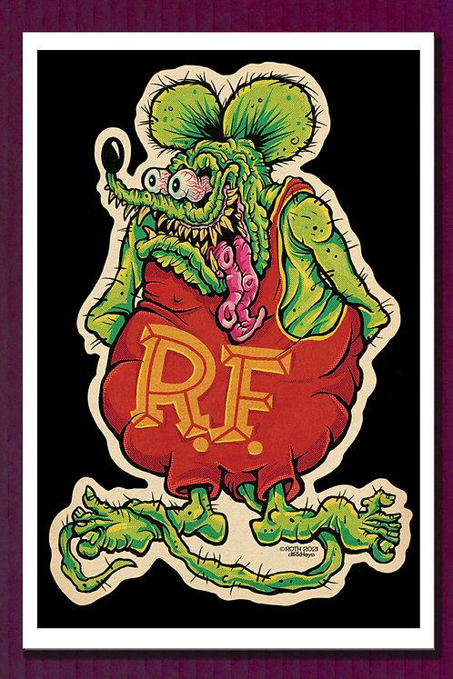 Rat Fink print