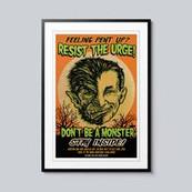 Erase Covid poster