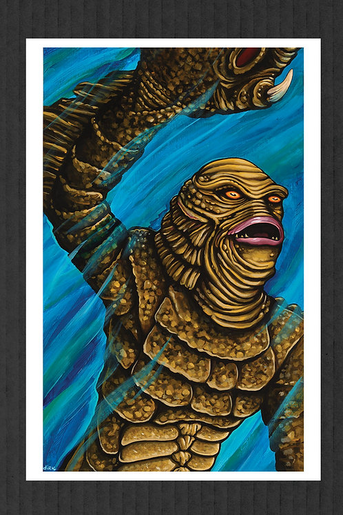 Creature From The Black Lagoon 1 print