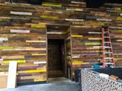 Wood Clad Wall