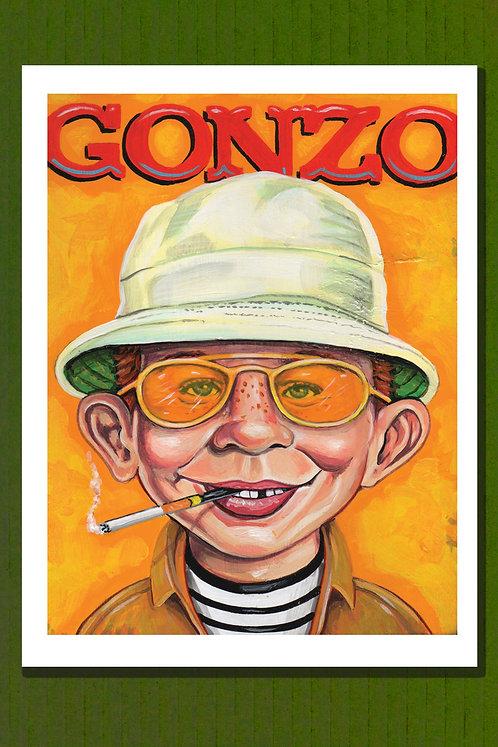 Gonzo print