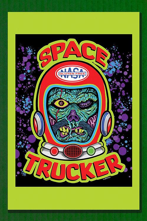 Space Trucker Print