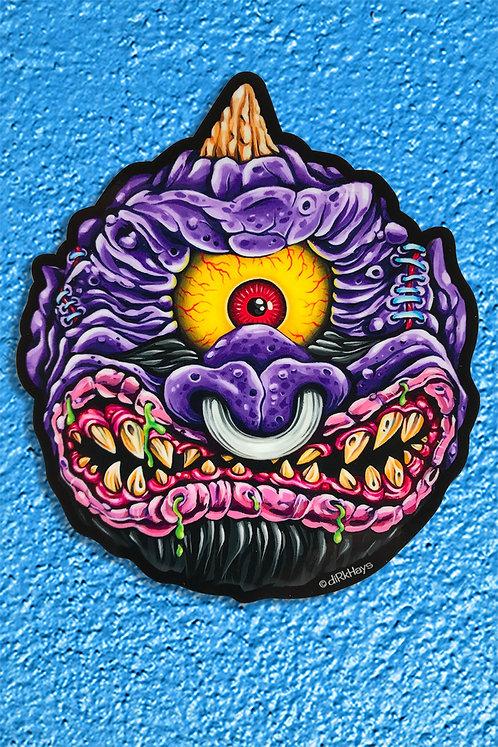 Horn Head Cyclops sticker