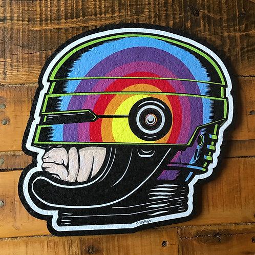 Rainbow Robocop Moodmat