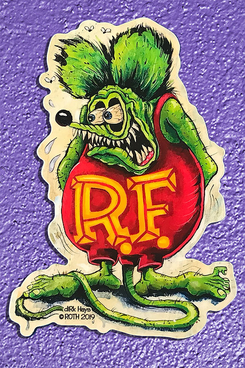 Classic Rat Fink sticker