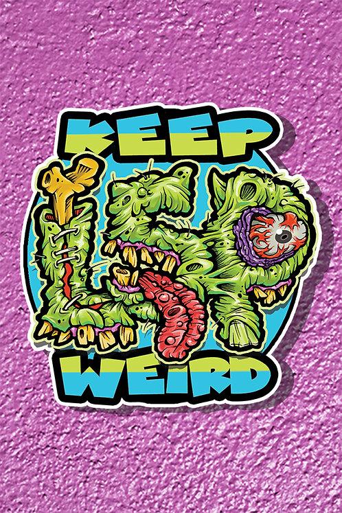 Keep L5P Weird Sticker