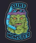 Surfmonster t-shirt design
