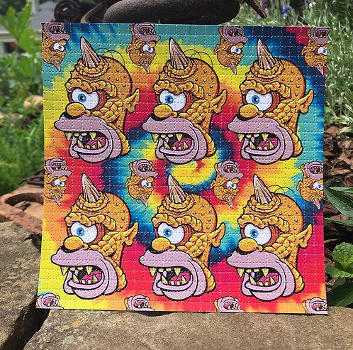 Homerclops Blotter Art