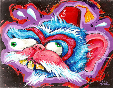 Self Portrait as Monkey