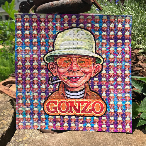 Tie Dye Gonzo Variant Blotter Art