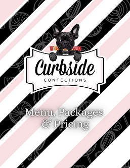 Curbside Confections Menu & Package Opti