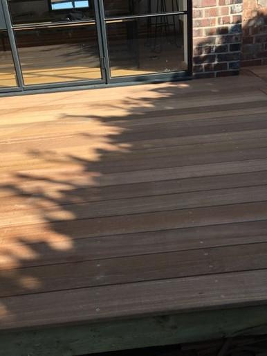 Terrace Installation