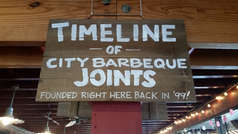 City Barbeque Timeline
