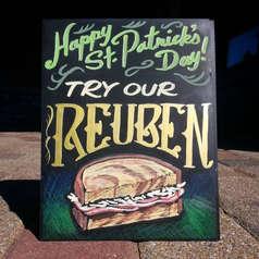 St. Patrick's Day Rueben