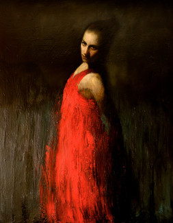 Marianela in red 2
