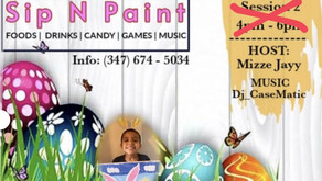 Kids Egg Hunt and Paint