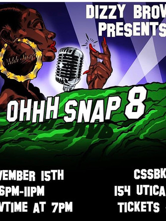 Ohhh Snap Poetry! 11/15