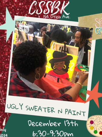 Ugly Sweater N Paint