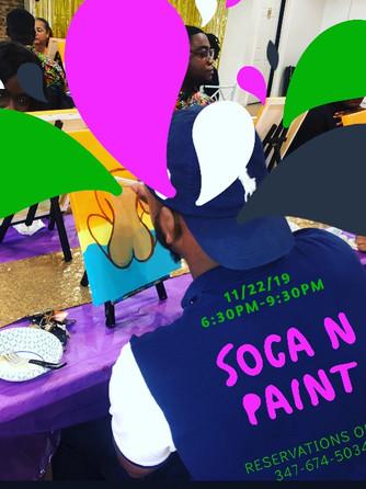 Soca n Paint 11/22