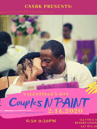 Couples N Paint - VDAY 2/14