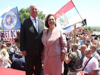 The Royal Couple Celebrates Vidovdan in Kosovo and Metohija